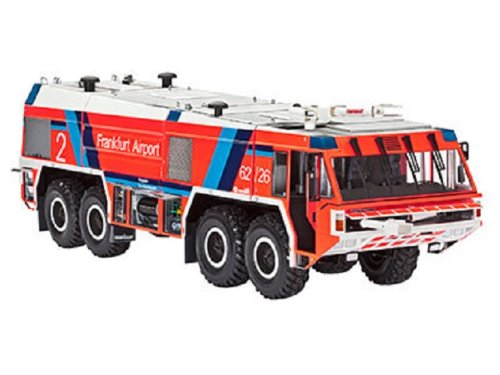 Revell 07514 - Modellbausatz - GFLF Simba 8 x 8, Löschfahrzeug, im Maßstab 1:24 -