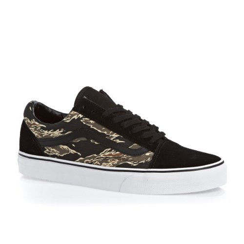 Vans Old Skool VN0VOKC5EF, Damen Sneaker (suede) tiger camo/black