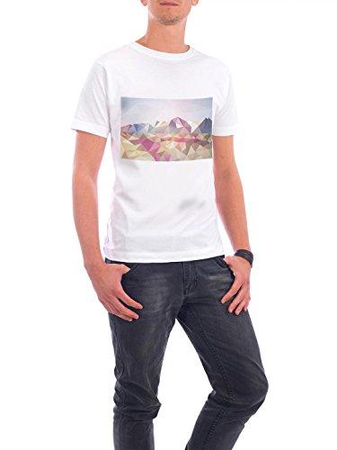 """Design T-Shirt Männer Continental Cotton """"Alaska Origami"""" - stylisches Shirt Motiv von Julia Bruch Weiß"""