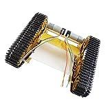 F Fityle Mini T400 Tracking Motor Smart Roboter Auto Fahrgestell Kit 9-12V DC Motor
