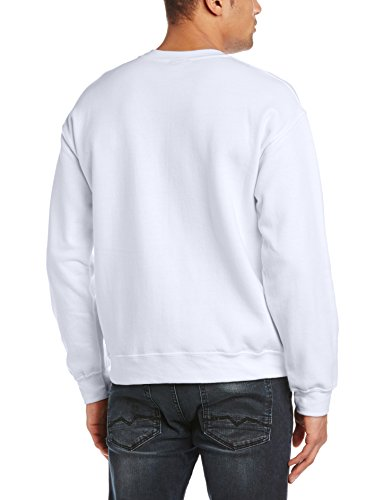 Marvel Herren Sweatshirt Avengers Assemble Hawkeye Locked On Target Weiß - Weiß
