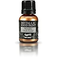 Raibow Dust Polvo Comestible Metálico Alimento Color Evento Oro Oscuro