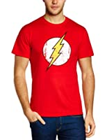 DC Herren T-Shirt The Flash - Logo, Rundhals