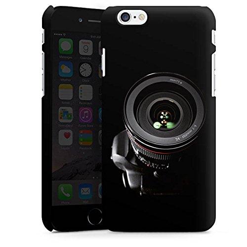 Apple iPhone X Silikon Hülle Case Schutzhülle Spiegelreflex Objektiv Fotografie Premium Case matt