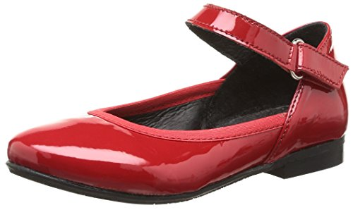 Yep Aceline Mädchen Ballerinas Rouge (Vernis Rouge)