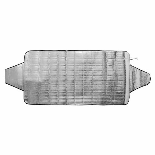 Preisvergleich Produktbild 2 in 1 Frontscheibenfolie Frontscheiben Sonnenschutz Eisschutz Folie Sonnenschutzfolie Abdeckung Anti Eis Abdeckfolie Scheiben XL