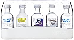Absolut Flavoured Vodka Gift Pack, 5 X 5 Cl