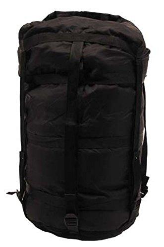 MFH US Kompressionssack, schwarz, Modular, für Schlafsack