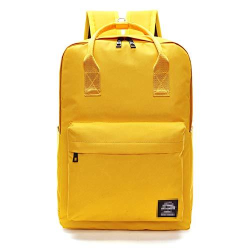 LAAT Schüler Segeltuch Rucksack Frauen Handtasche Geldbörse Kleine Rucksack Sport Outdoor Travel Schultern Tasche Einfarbig (Segeltuch-frauen-rucksack)
