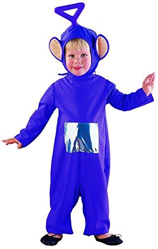 Joker 9601-000 teletubbies tinky winky costume di carnevale, in busta, viola