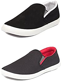 Shoes For Men Casual Stylish In Various Sizes & Colors (Combo Pack Of 2 Loafers)