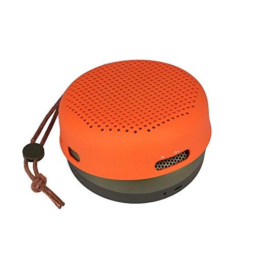 Funda protectora portátil, blanda, para viaje de NiceCool® para BeoPlay A1B & O PLAY de Bang & Olufsen, caja para guardar cosas, sistema de altavoz inalámbrico Bluetooth Sleeve for Orange