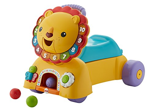 Fisher Price Infant DTM50 - Leoncino Primi Passi 3 in 1