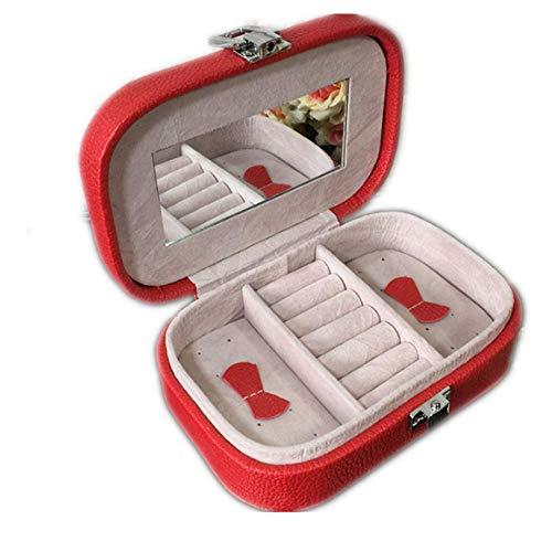 zhenfa Tragbaren Schmuck-Box exquisiten Schmuck Box Schmuck Box Schmuck Box Kosmetikbox Dressing Box Aufbewahrungsbox Ment-Dekoration) -