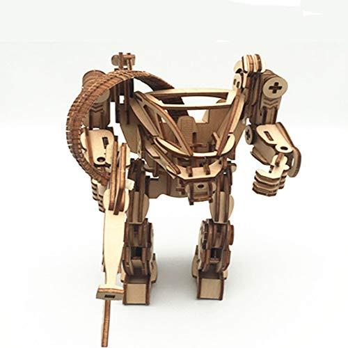 ZTXY 3D Holz Puzzle Bord Modell Spielzeug Avatar Serie Früherziehung Puzzle für Kinder handgefertigt 14 * 12 * 22cm