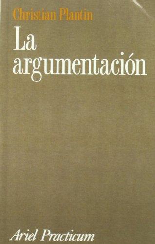 La Argumentacion por Christian Plantin