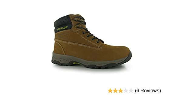 c449c8b22c6 Dunlop Mens Safety On Site Boots Lace Up Mesh Oil and Slip Resistant Shoes  Sundance UK 9 (43)  Amazon.co.uk  Shoes   Bags