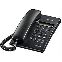 Panasonic KX-TSC60SXB Corded Phone with Caller ID (Black)