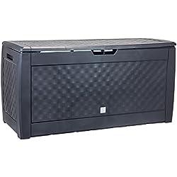 "Prosper Plast mbb310-s433119x 48x 60cm ""Boxe"" Brick Garten Container–Anthrazit"