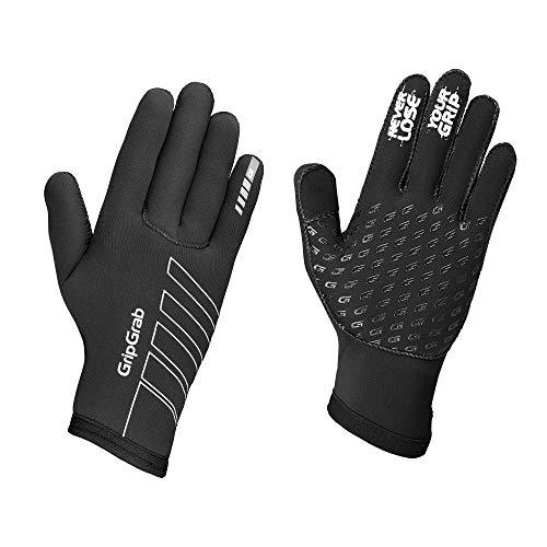 normani 3M Thinsulate Winterhandschuhe Extrem Warme und wasserdichte Unisex Skihandschuhe Farbe Schwarz//Schwarz Gr/ö/ße L