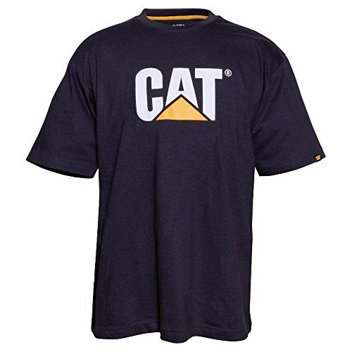 Caterpillar Herren TM Logo Kurzarm T-Shirt (3XL) (Schwarz)