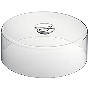 WMF Tortenhaube, 30 cm, Haube für Tortenplatte, Acrylglas, spülmaschinengeeignet