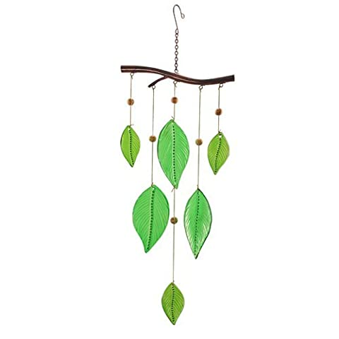 Art Deco Home - Decorative hanging Mobile with crystal leaves