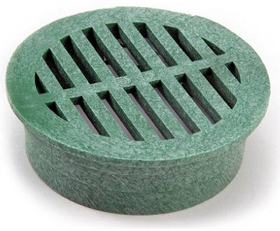nds-4-inch-green-round-structural-foam-polyolefin-grate-with-uv-inhibitors