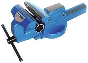 Étau 86 acier avec serre-tubes ouverture 155 mm