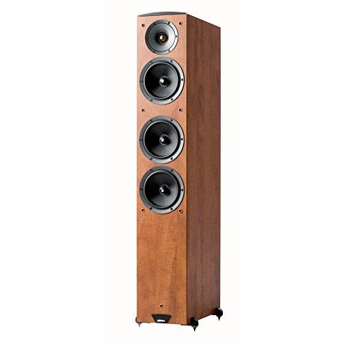 Jamo C607 - Altavoz de suelo de 150W (3-way, 32-20000 Hz, 6 Ohmios), marrón