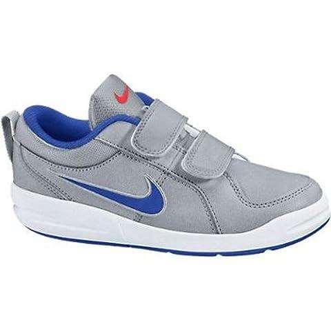 Nike Pico 4 (PSV) - Zapatillas para niño, color gris / azul / blanco