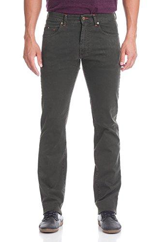 Oranjeans 0C352 - Jeans sottili per gli uomini Oliva