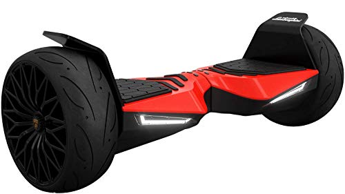 Wheelheels Balance Scooter, Hoverboard, F-Cruiser - Made In Germany (Rot)