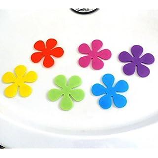 versandfuxx24-6 Boden Anti-Rutsch Pads für Dusche und Badewanne Ø 10 cm