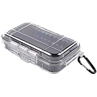 ZZM Mini Dry Box Case 1030 - Funda para snorkelers y Kayakers, Transparente