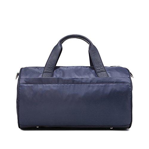 Reisetasche/hand-held ein-schulter gym bag/sports bag mit oblique geschleudert/wasserdichte koffer- Marine Marine