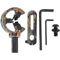 Alomejor Arrow Rest - Camuflaje, Cepillo de Aluminio Arrow Rest para Accesorio de Arco Compuesto(Camuflaje)