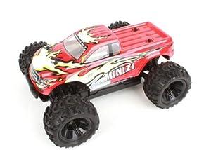 Amewi 22105 Mini Monstertruck - Coche teledirigido (Escala 1:18, frecuencia de 2,4GHz, tracción en Las 4 Ruedas), Listo para su Uso