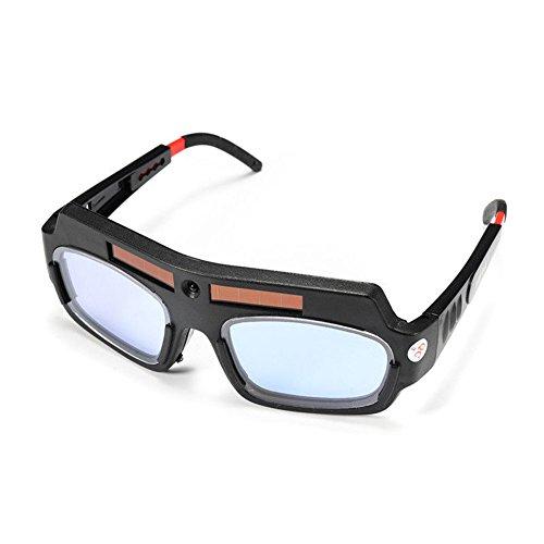 Starall, Occhiali da saldatore, Ad energia solare, Occhiali di sicurezza, Con protezione per gli occhi