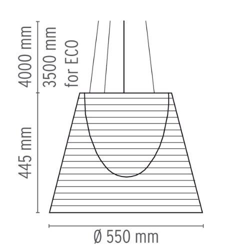 FLOS Ktribe S3 - Lampada a sospensione, con