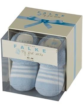 FALKE Baby-Jungen Socken Erstlingsringel, Blickdicht