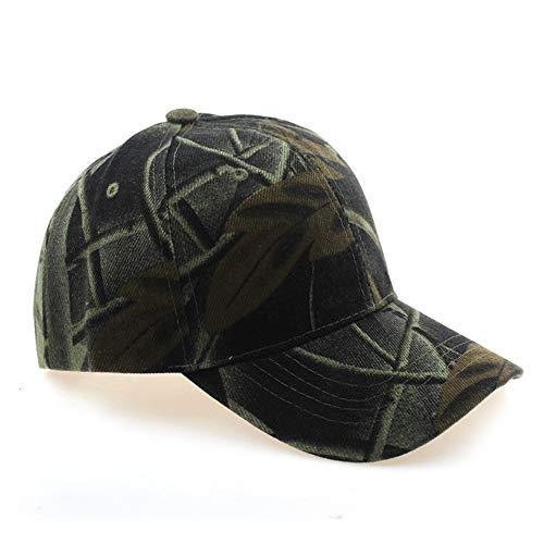 zhuzhuwen Outdoor Camouflage Baseball Cap Männer und Frauen Dschungel Klettern Mode Sonnenschirm Hut atmungsaktiv Mesh Cap Cap 4 56-62cm