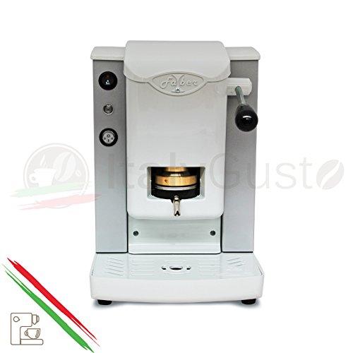 Faber Slot Plast Kaffeemaschine für Pads Grigio Perlato