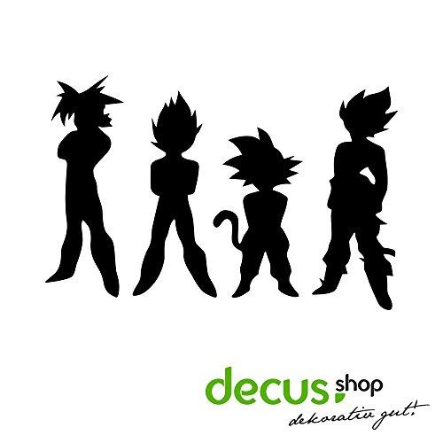 Dragon Ball Z-DBZ Team//Pegatinas DUB OEM JDM Style Pegatinas