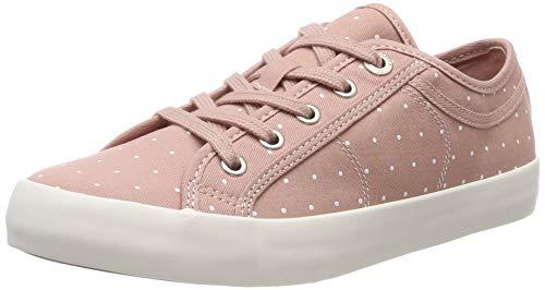 Dot Fashion Sneaker (s.Oliver Damen 5-5-23644-22 554 Sneaker, Pink (Rose Dots 554), 40 EU)