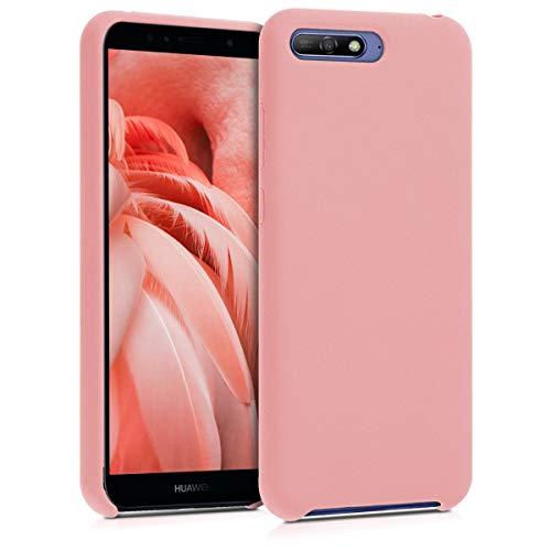 713e49f3d95 kwmobile Funda para Huawei Y6 (2018) - Carcasa de [TPU] para teléfono
