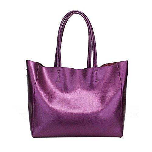 Frauen-Handtasche Luxus-Handtasche Mit Großer Kapazität Umhängetasche Purple