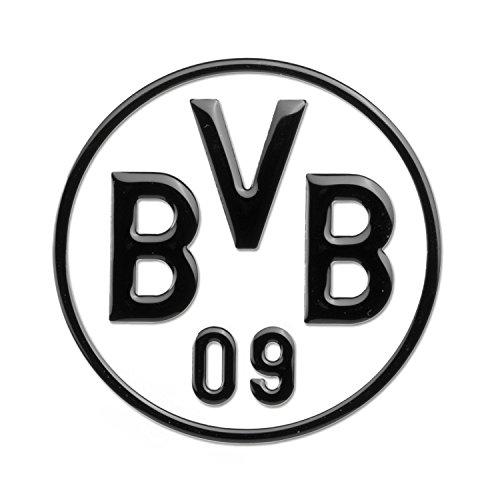 Unbekannt Borussia Dortmund 3D Autoaufkleber, Aufkleber, Sticker Schwarz - Plus Gratis Lesezeichen -