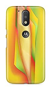 PCM High Quality Printed Designer Polycarbonate Hard Back Cover for Motorola Moto G4 Plus (4th Generation) / Moto G Plus 4th Gen - Matte Finish - Color Warranty - 0688