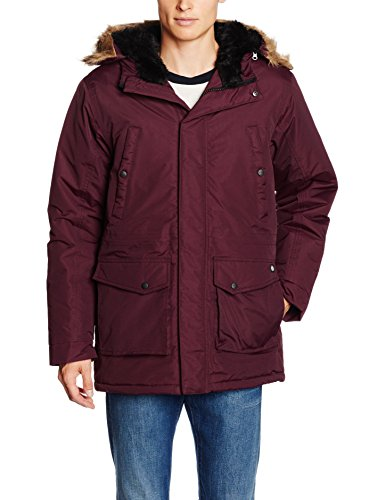 Dickies Curtis, Giubbotto Uomo, Rosso (Maroon), X-Large